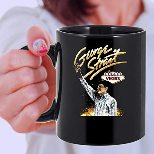 Honky Tonk Time Machine - GEORGE STRAIT TO LAS VEGAS Mug 11oz|Coffee Cup - George Strait Coffee