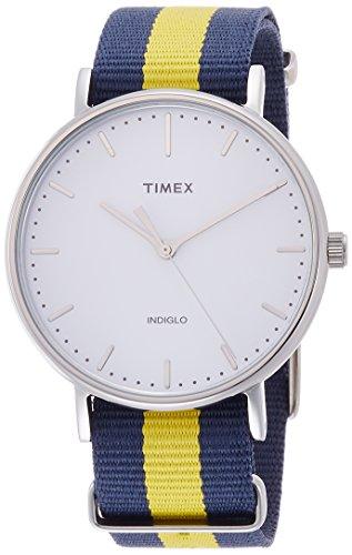 Timex Weekender Fairfield White Dial Nylon Strap Unisex Watch TW2P90900