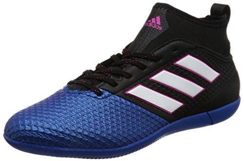 Adidas Ace 17.3 Primemesh In, pour les Chaussures de Formation de Football Homme, Noir (Negbas/Ftwbla/Azul), 44 EU