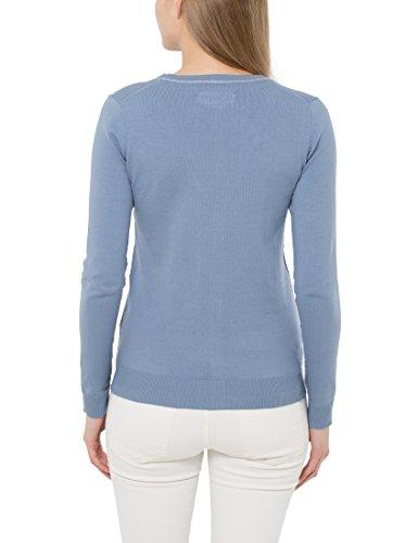 Mujer Azul Para Suaves Veraniegos De Con Berydale Colores Cárdigan Chaqueta Punto Botonadura En qgwxEpOC6