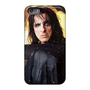 Scratch Resistant Hard Phone Cases For Iphone 6plus With Allow Personal Design Colorful Alice Cooper Band Pattern JamieBratt
