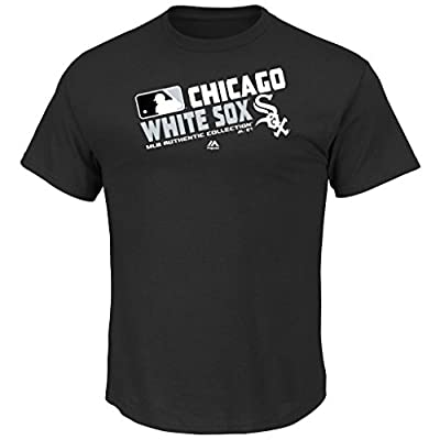 Majestic Athletic Youth MLB Authentic Collection Team Choice T-Shirt (Youth Medium 10/12, Chicago White Sox)