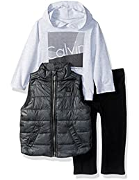 Baby Boys' 3 Pc Vest Set