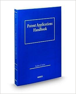 Book Patent Applications Handbook, 2012 ed.