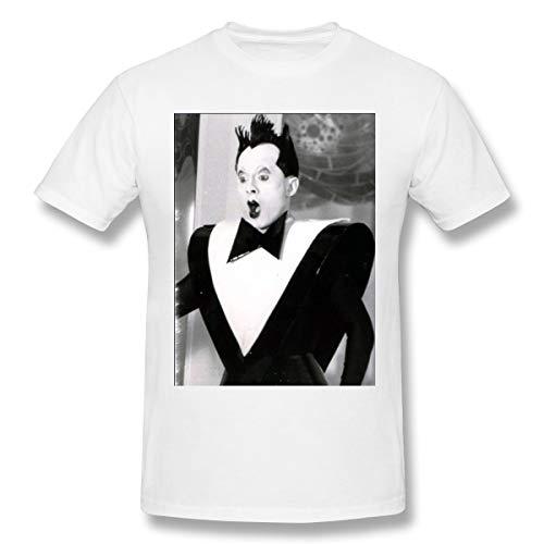 JFMKK Man Klaus Nomi Generous Print Shirts White