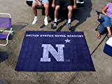 Us Navy Naval Academy College Tailgate Party Rug 5' X 6' Military Outdoor Carpet