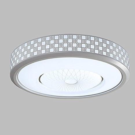 Plafón Lámpara de techo LED 40 W Circular mando a distancia ...