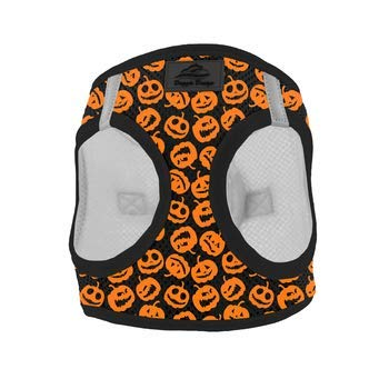 American River Choke Free Dog Harness Holiday Line - Halloween Jack-o-Lanterns (X-Large)]()