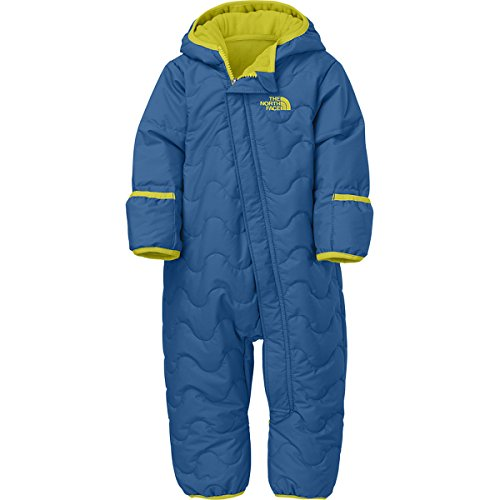 The North Face Infant Toasty Toes Bunting (24 month, Snorkel Blue) by The North Face (Image #1)'