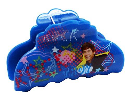 Disney's High School Musical Troy Blue Colored Plastic Hair Clip ()