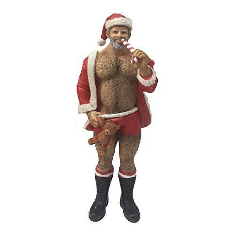 December Diamonds Poke The Bear Ornament - Santa Bear]()