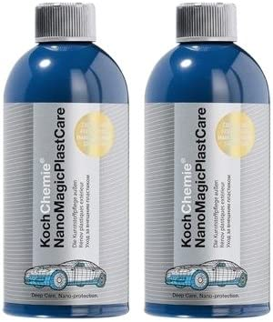 Koch Chemie 2x Nano Magic Plast Care Kunststoffpflege Kunststoffreiniger 500 Ml Auto