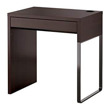 Ikea Micke Black brown Modern Computer Desk