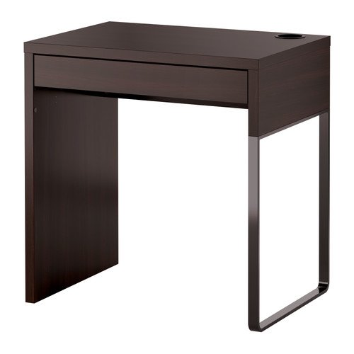 IKEA(イケア) MICKE デスク ブラックブラウン B00JEYA9U4