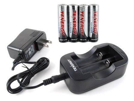 Tenergy 2-Channel 18650/14500 Li-ion Battery Charger and ...