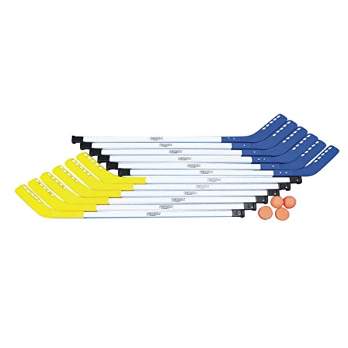 Stick School (S and S Worldwide Middle School Tough Floor Hockey Set, 43