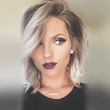 Mzp Damen Menschliches Haar Capless Perucken Grau Naturlich Gewellt