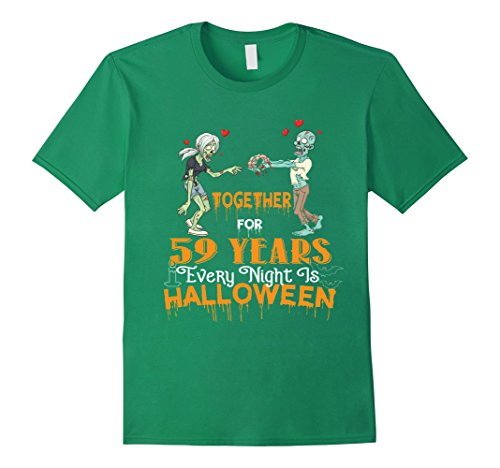 Mens Halloween Costumes For Wife Husband. 59th Anniversary Gift. 3XL Kelly Green