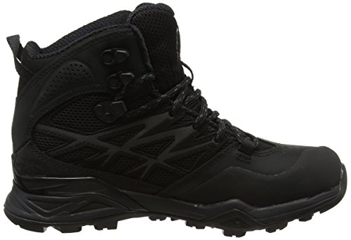 amp; NORTH Schwarz Damen Hike Black Mid THE Tex Black Gore Trekking Hedgehog Wanderstiefel Tnf FACE Tnf zwdP4A
