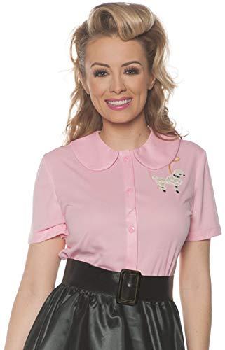 Underwraps Women's 1950's Poodle Shirt Costume-Pink, -