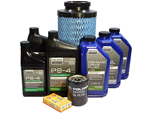 Polaris RZR 1000 XP OEM Complete Service Kit Oil Change POL07 by Powersports Authority (Image #2)