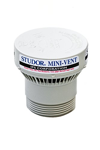 Studor 20341 Mini-Vent with PVC Adapter 1 1/2-Inch or 2-Inch Connection by Studor