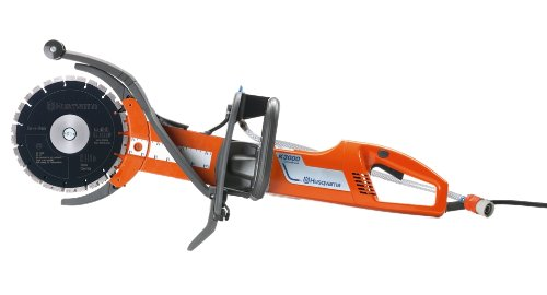Husqvarna 968388404 K 3000 Cut-n-Break Electric Power Cutter with Set of EL 10 CNB Blades by Husqvarna