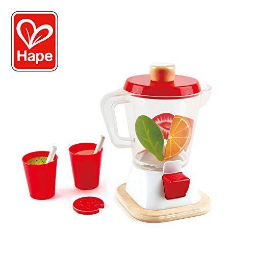 Kidkraft Blender - Hape Smoothie Blender, Play Kitchen Set, 12Piece, Multicolor