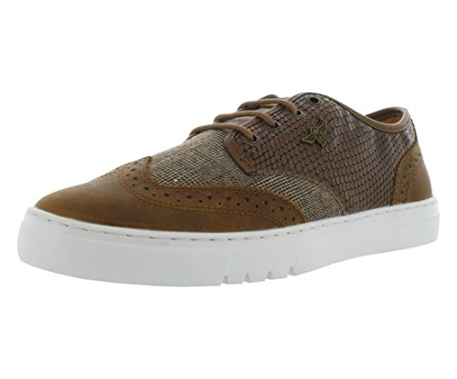 Mens Defeo Q Oxford, Brown/Reptile/Vintage, 9 M US Creative Recreation