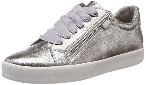 Para 23774 Tozzi silver Zapatillas Mujer Marco Plateado WzqaTHnHx