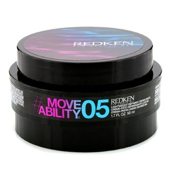 (Redken Styling Move Ability 05 Lightweight Defining Cream Paste, 1.7 Ounce)