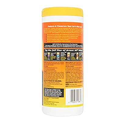 ArmorAll 19009 1 Pack Original Protectant Wipes (25Ct): Automotive