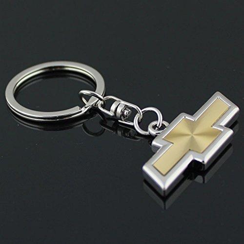 bearfire car logo key chain Zinc Alloy Genuine Leather Key-ring - Chevrolet Keychain