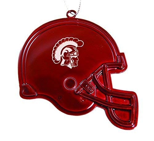 LXG, Inc. University of Southern California - Chirstmas Holiday Football Helmet Ornament - Red ()