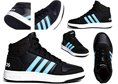 000 Enfant Noir Gymnastique Adidas Mixte Chaussures Mid Vs negro 2 0 K De Hoops 8POw4qv