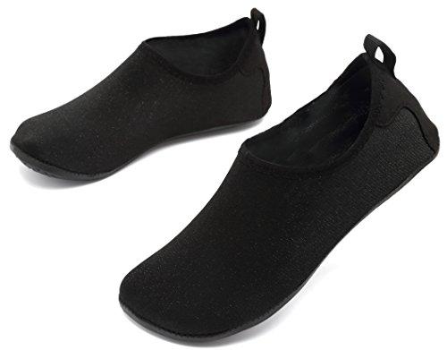 Shoes Socks Pool AoSiFu Swim Womens Yoga Beach Barefoot Water Starblack for and Exercise Mens Aqua Surf qRYqIHEw