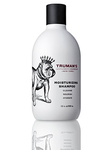 Truman's Gentlemen's Groomers Men's Peppermint Moisturizing Daily Shampoo, 12 oz