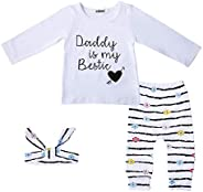 YJZIWX 3Pcs Infant Baby Girl Long Sleeve Hoodie Tops and Flower Pants Outfit with Pocket Headband 0-4T