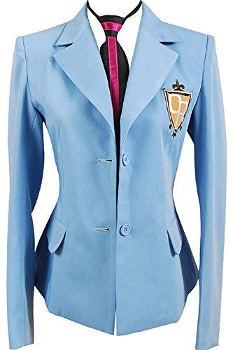 CosplaySky Ouran High School Host Club Boy Uniform Blazer Cosplay Costume Small