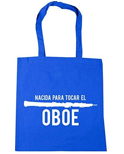 38cm x HippoWarehouse de 10 Azul El Oboe Asas Para capacidad Compra para 42cm Con Aciano Tocar Bolso Playa gimnasio litros Bolsa Nacida aqWafwnSxr