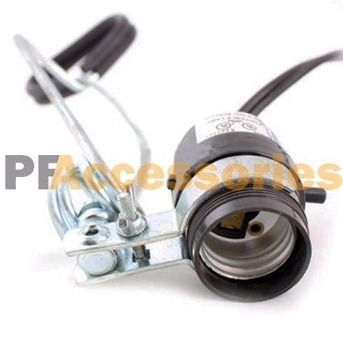 12 Pcs Heavy Duty 8-1/2 Aluminum Reflector Shade Clamp on Work Light Lamp ETL by Generic (Image #5)