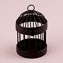 4PC 9119WS Miniature Classic Round Decorative Birdcages Wedding Baby Shower Favo