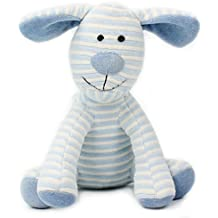 HaloVa Plush Doll, Stuffed Toy, Perfect Gift for Babies, Children and Girlfriend, Lovely Blue Stripe Dog