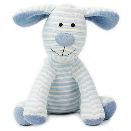 HaloVa Plush Doll, Stuffed Toy, Perfect Gift for Babies, Children and Girlfriend, Lovely Blue Stripe (Girlfriend Dogs)