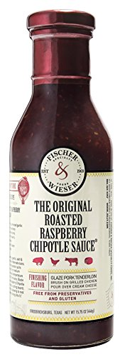 Raspberry Chipotle - Fischer & Wieser The Original Roasted Raspberry Chipotle Sauce, 15.75 Ounce (Pack of 6) ( Pack May Vary )
