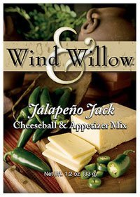 [Wind & Willow Jalapeno Jack Cheeseball & Appetizer Mix by Wind & Willow] (Jalapeno Cheeseball)