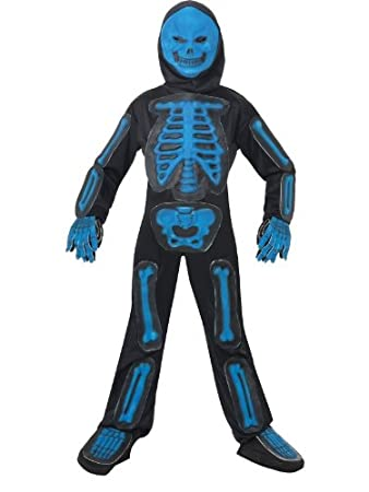 Halloween skeleton costume for boys - M  sc 1 st  Amazon UK & Halloween skeleton costume for boys - M: Smiffys: Amazon.co.uk: Clothing