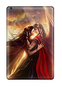 David R. Spalding's Shop 8681624K76392197 Hot Snap-on Two Angels Hard Cover Case/ Protective Case For Ipad Mini 3