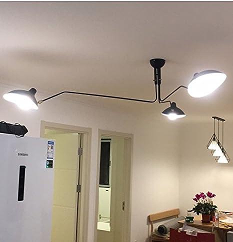 Phube lighting modern ceiling lamp 3 arm ceiling lights rotating phube lighting modern ceiling lamp 3 arm ceiling lights rotating dining room ceiling lighting black aloadofball Choice Image