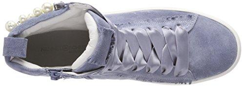 Kennel And Schmenger Ladies Town Sneaker Alta Blu (cielo / Perla Bianco)
